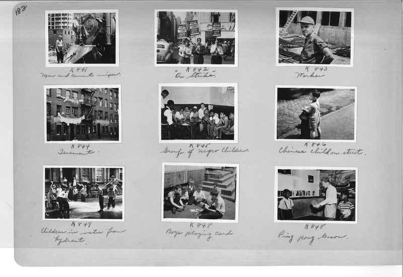 Mission Photograph Album - Cities #18 page 0182