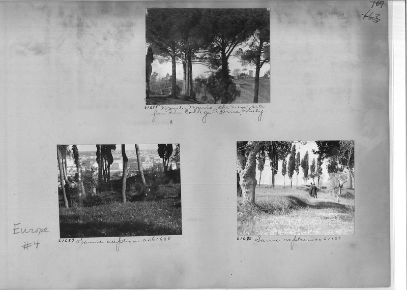 Mission Photograph Album - Europe #04 Page 0167