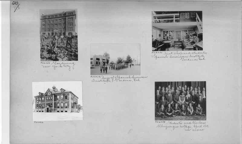 Mission Photograph Album - Education #1 page 0120