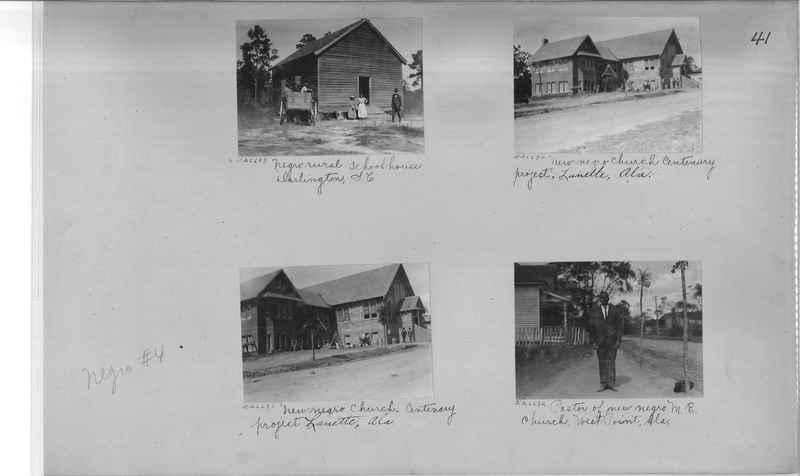 Mission Photograph Album - Negro #4 page 0041