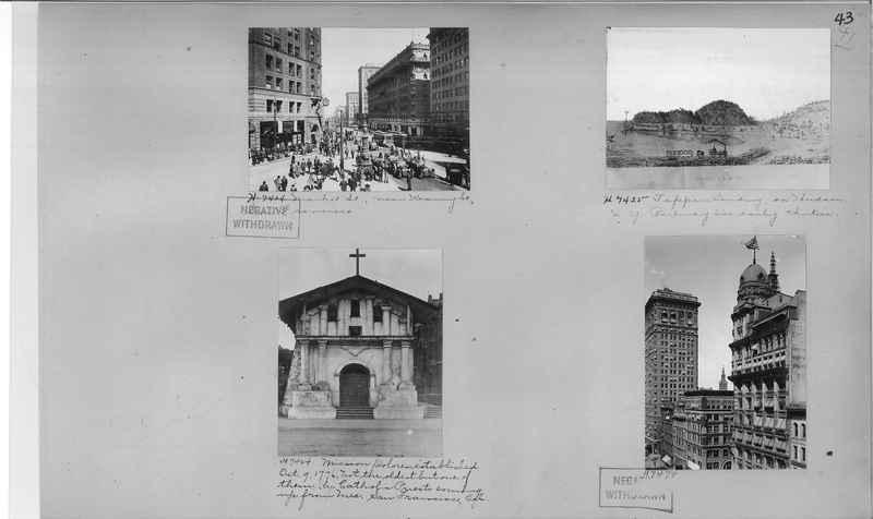 Mission Photograph Album - Cities #4 page 0043