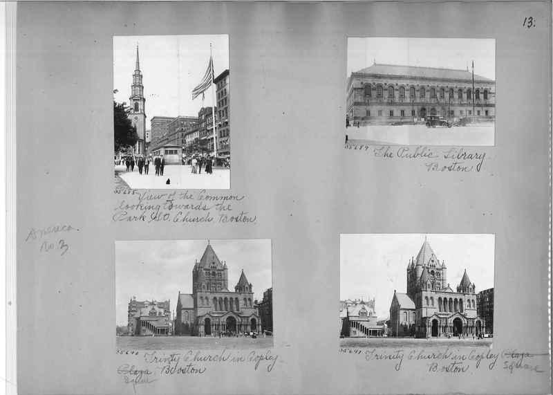 Mission Photograph Album - America #3 page 0013