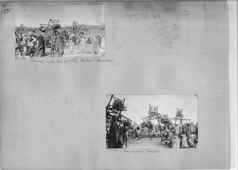 Mission Photograph Album - India #08 Page 0184