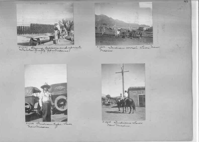 Mission Photograph Album - Indians #2 page_0045