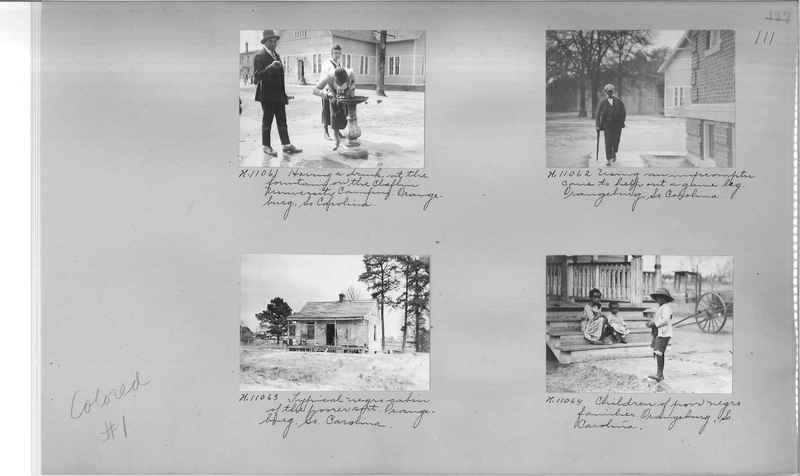 Mission Photograph Album - Negro #1 page 0111