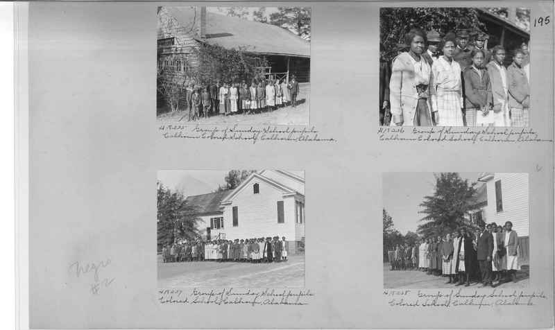 Mission Photograph Album - Negro #2 page 0195