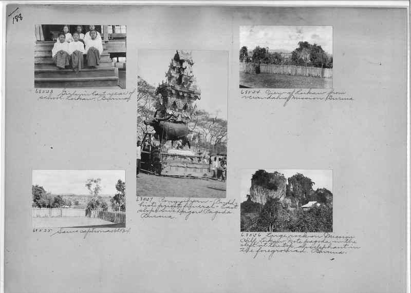 Mission Photograph Album - Burma #1 page 0188