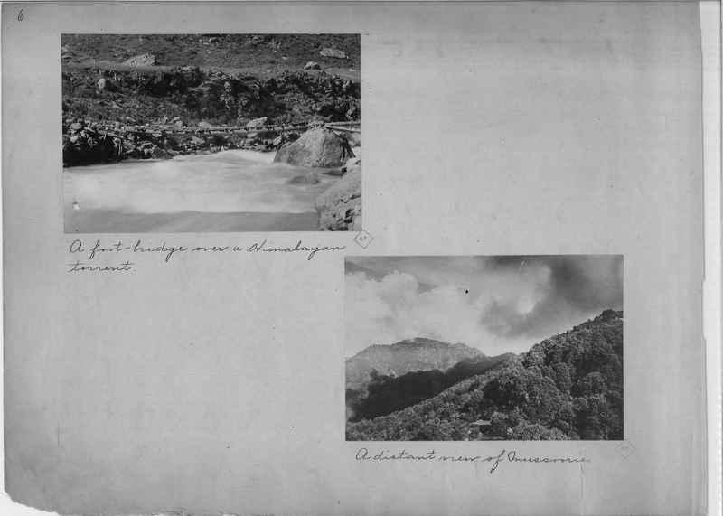 Mission Photograph Album - India - O.P. #01 Page 0006