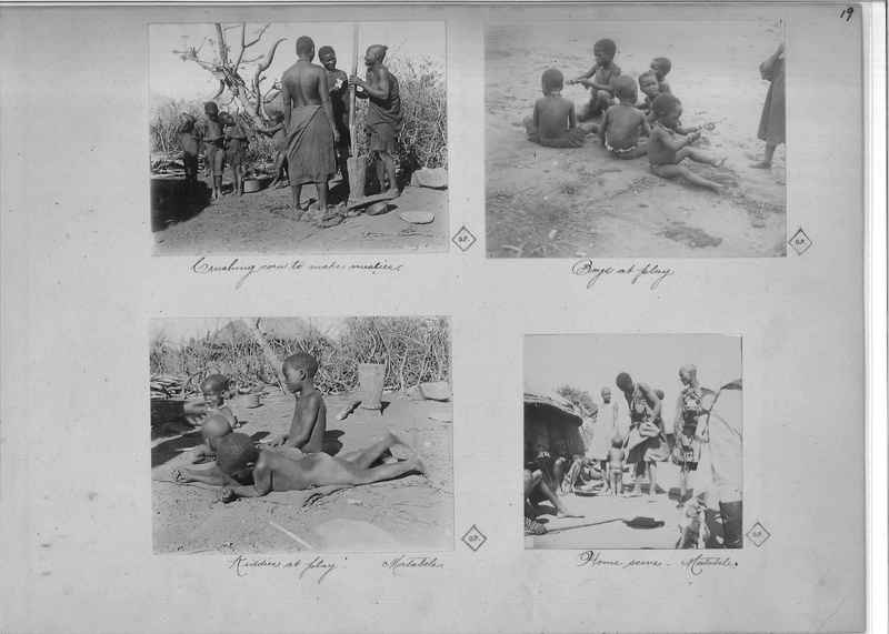 Mission Photograph Album - Africa O.P. #4 page 0019