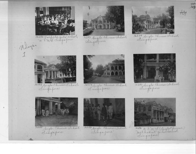 Mission Photograph Album - Malaysia #1 page 0103