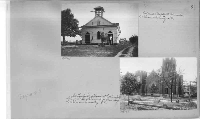 Mission Photograph Album - Negro #3 page 0005