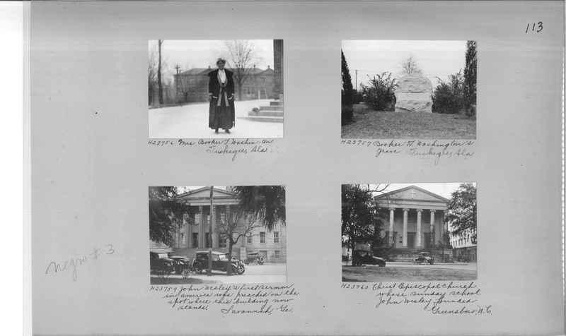 Mission Photograph Album - Negro #3 page 0113