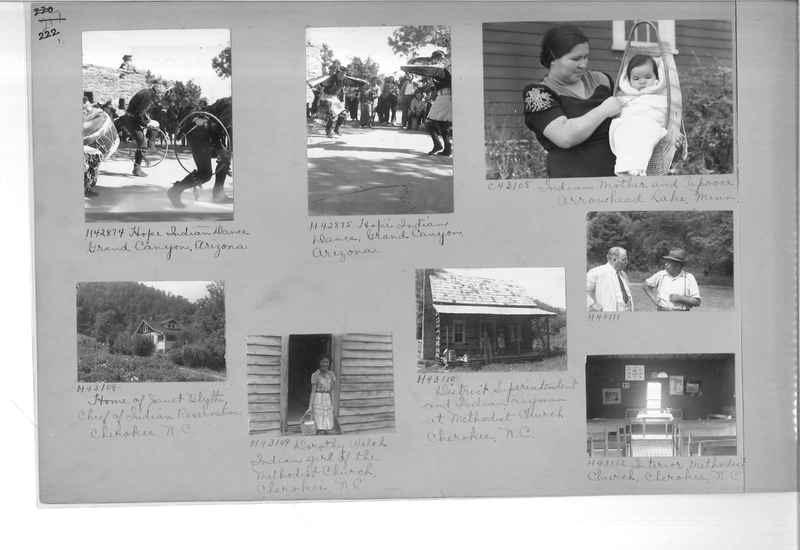 Mission Photograph Album - Indians #2 page_0222