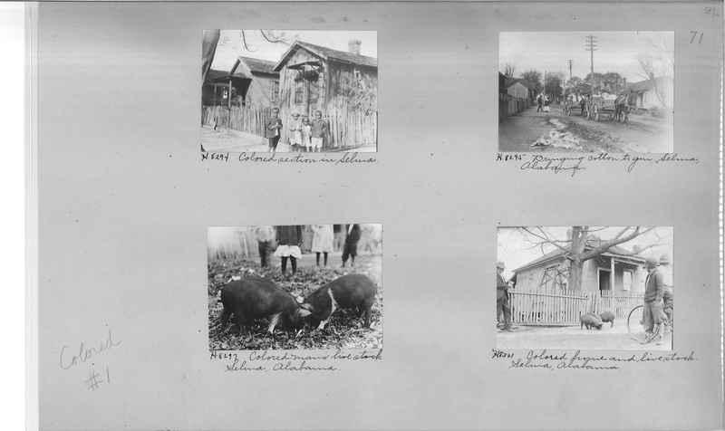 Mission Photograph Album - Negro #1 page 0071