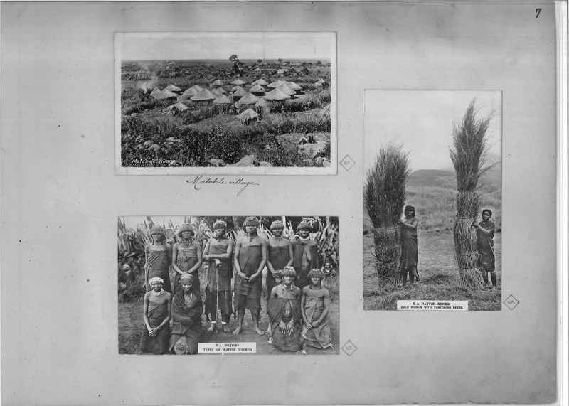 Mission Photograph Album - Africa O.P. #4 page 0007