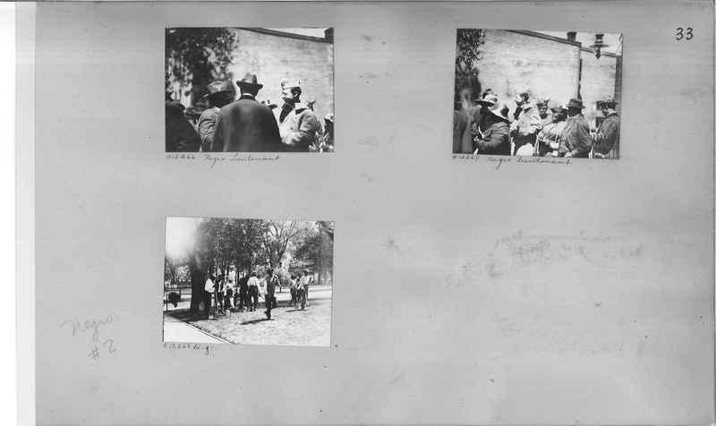 Mission Photograph Album - Negro #2 page 0033