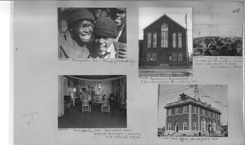 Mission Photograph Album - Negro #3 page 0045