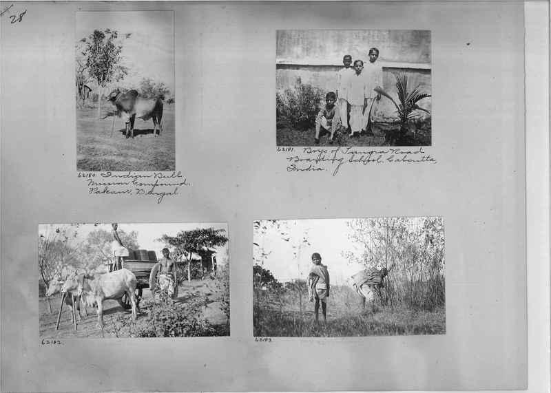 Mission Photograph Album - India #08 Page 0028