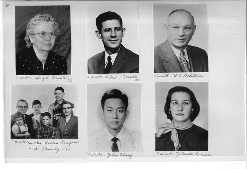 Mission Photograph Album - Portraits #10 Page 0040