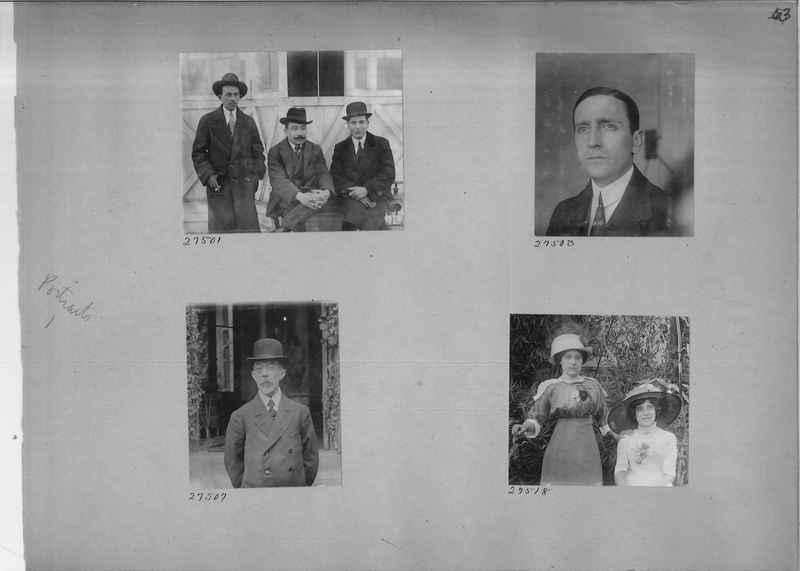 Mission Photograph Album - Portraits #1 page 0063