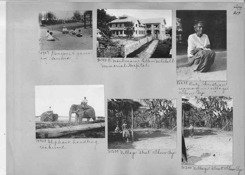 Mission Photograph Album - Burma #1 page 0217