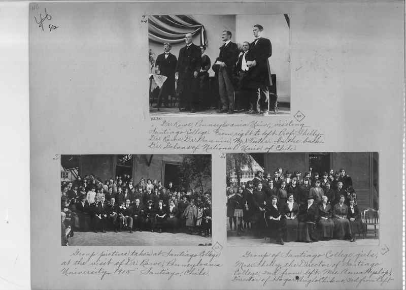 Mission Photograph Album - South America O.P. #2 page 0042