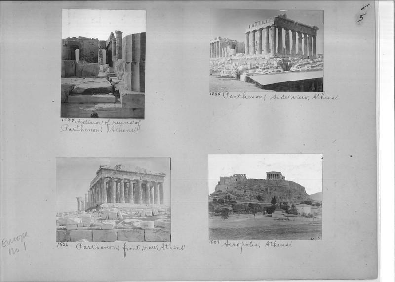 Mission Photograph Album - Europe #01 Page 0005