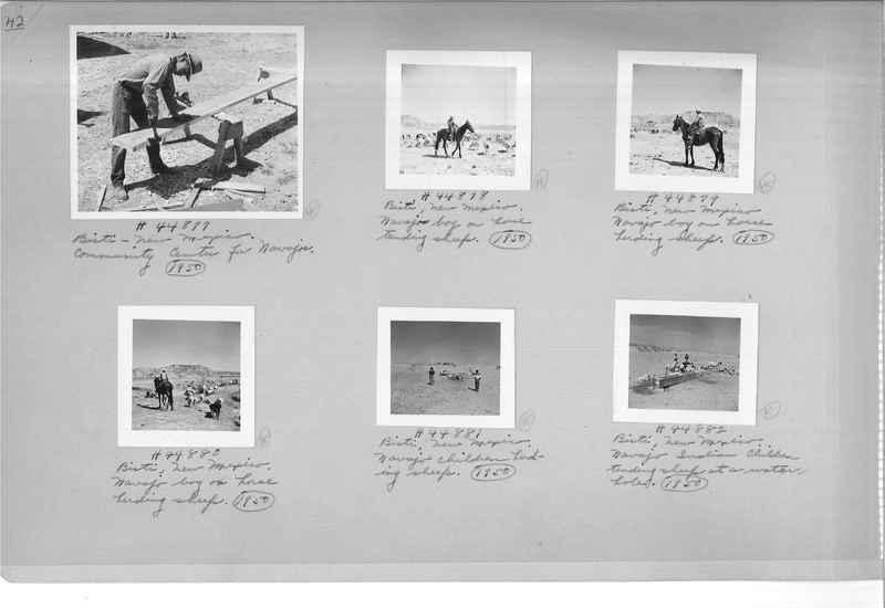 Mission Photograph Albums - Indians #3 Page_0042