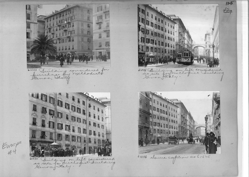 Mission Photograph Album - Europe #04 Page 0125