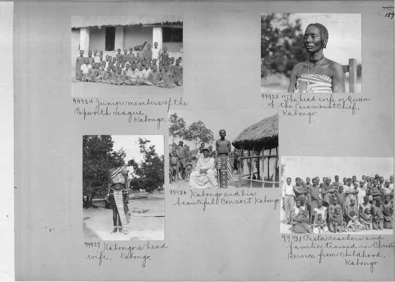 Mission Photograph Album - Africa #14 page 0159