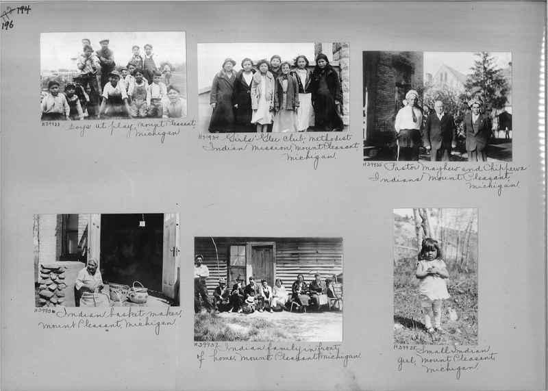 Mission Photograph Album - Indians #2 page_0196