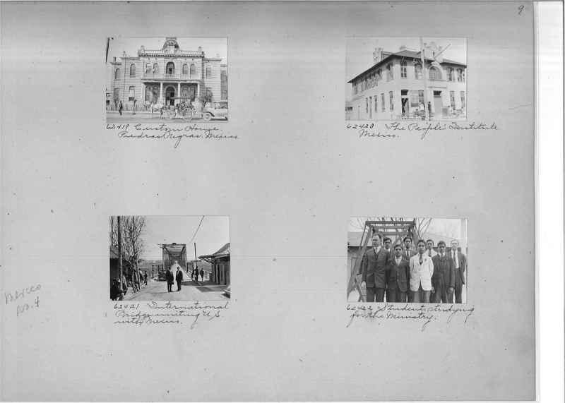 Mission Photograph Album - Mexico #04 page 0009
