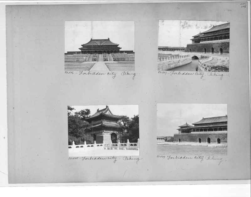 Mission Photograph Album - China #10 pg. 0105