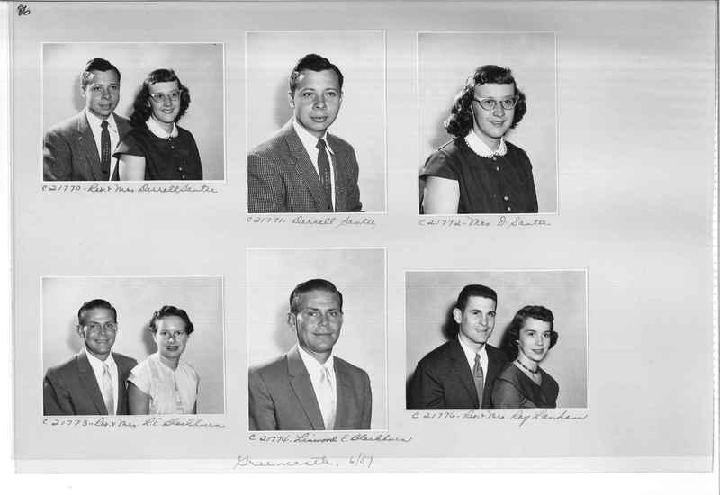 Mission Photograph Album - Portraits #10 Page 0086