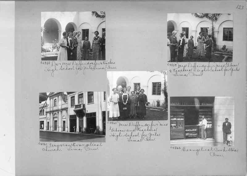 Misson Photograph Album - South America #8 page 0133