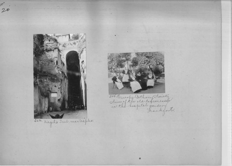 Mission Photograph Album - Europe #01 Page 0020