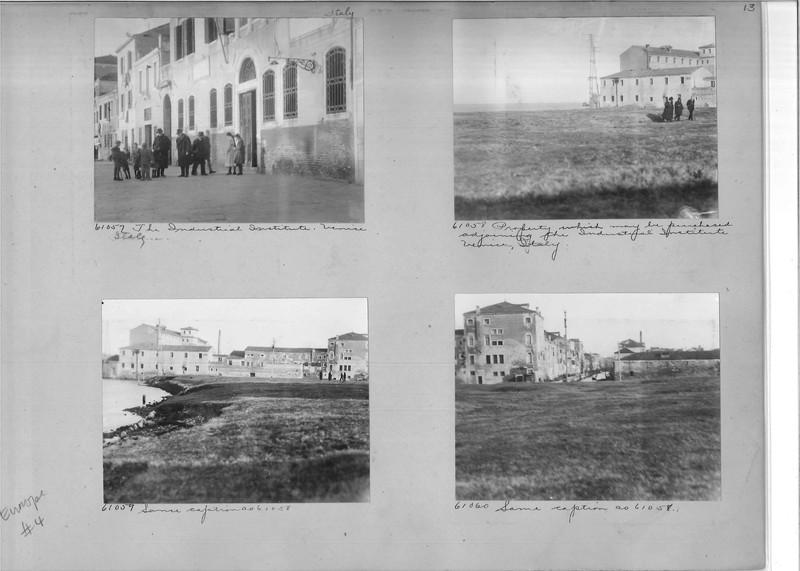 Mission Photograph Album - Europe #04 Page 0013
