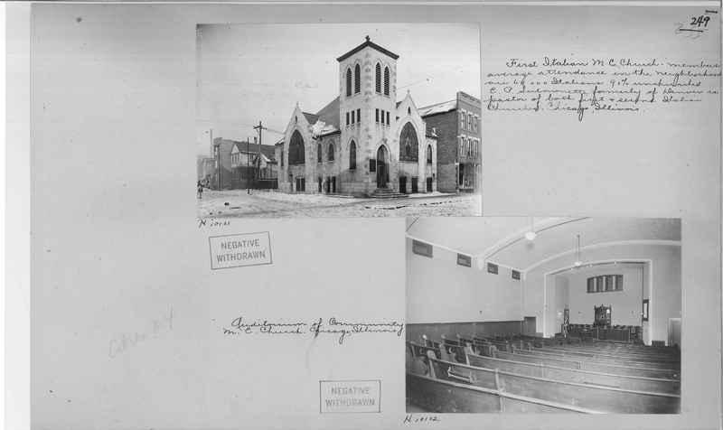 Mission Photograph Album - Cities #4 page 0249