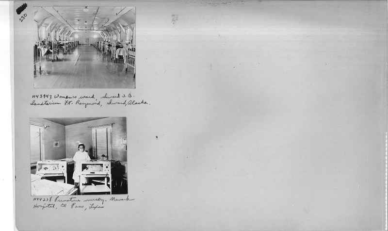 Mission Photograph Album - Hospitals and Homes #3 page 0230