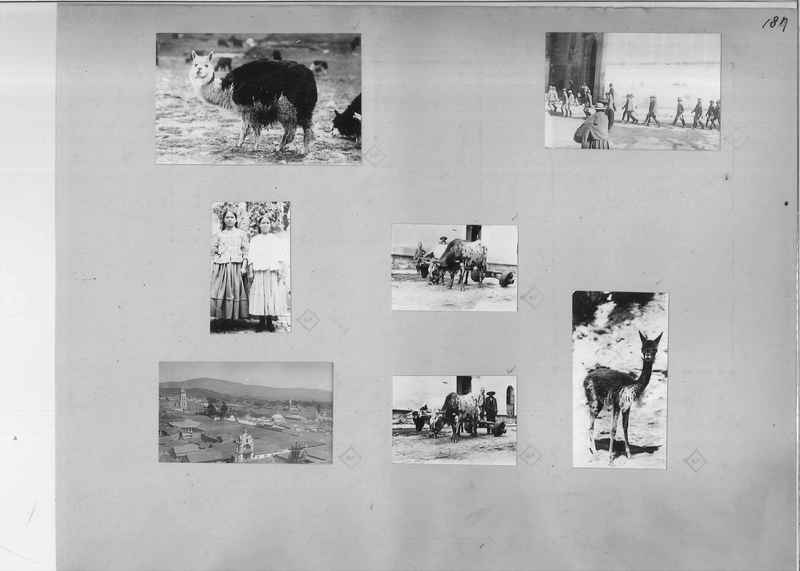 Mission Photograph Album - South America O.P. #1 page 0187