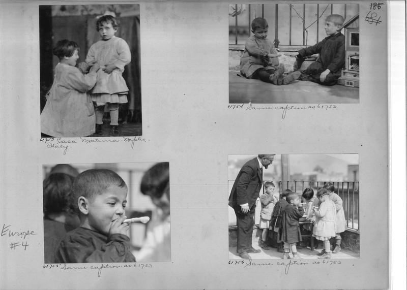 Mission Photograph Album - Europe #04 Page 0185