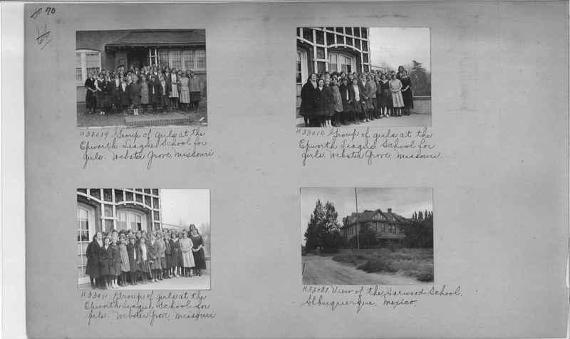 Mission Photograph Album - Education #2 page 0070