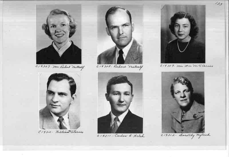 Mission Photograph Album - Portraits #08 Page 0133