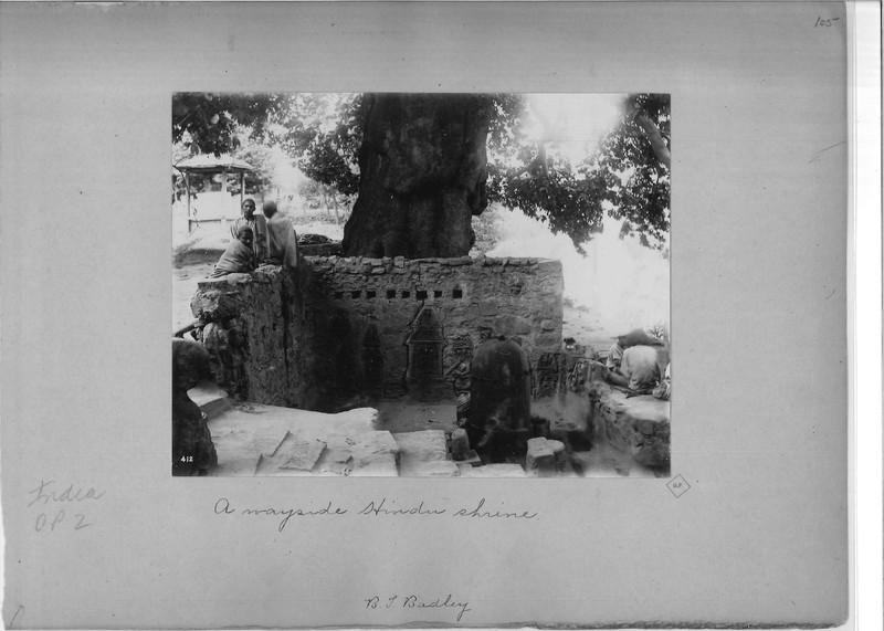 Mission Photograph Album - India - O.P. #02 Page 0105