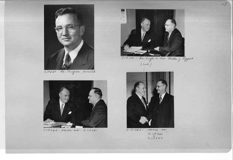 Mission Photograph Album - Portraits #08 Page 0039