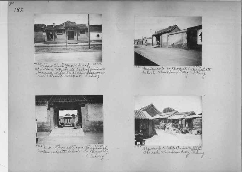 Mission Photograph Album - China #2 page  0182
