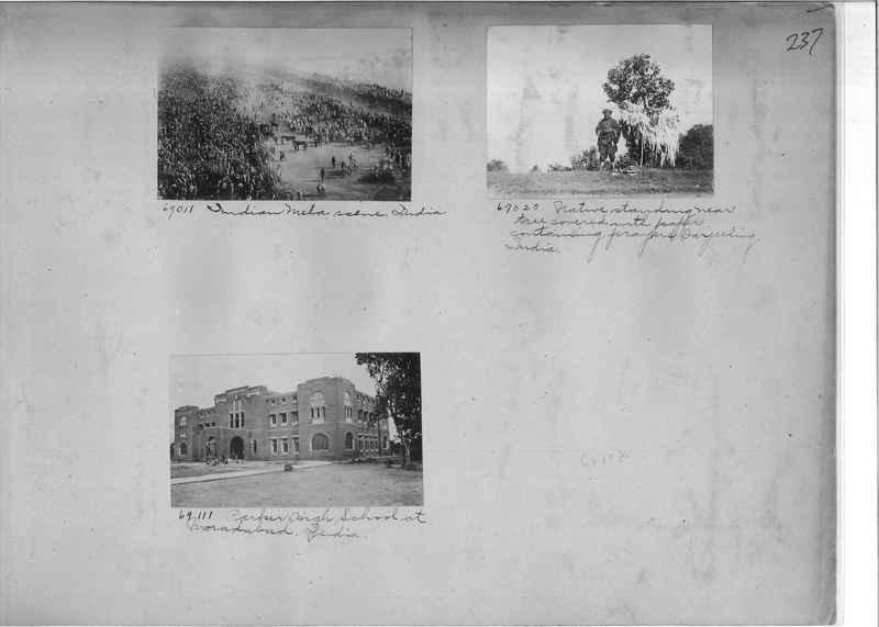 Mission Photograph Album - India #08 Page 0237