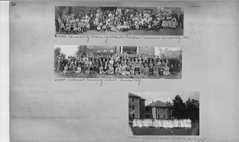Mission Photograph Album - Education #2 page 0010