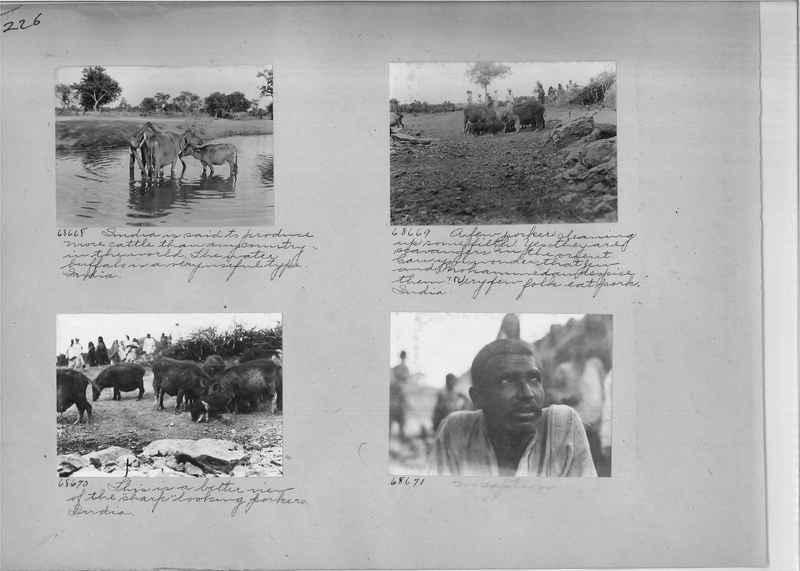 Mission Photograph Album - India #08 Page 0226