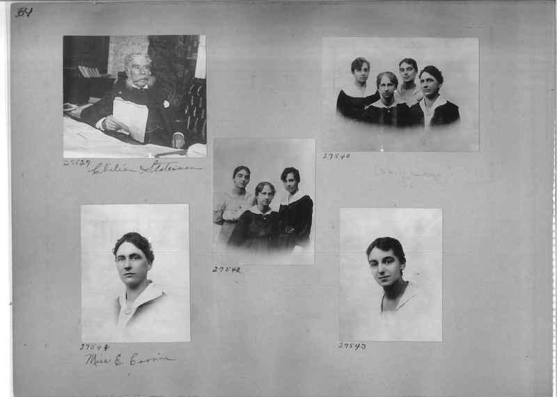 Mission Photograph Album - Portraits #1 page 0064
